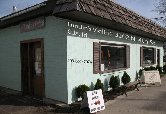 Lundins Violins StoreFront